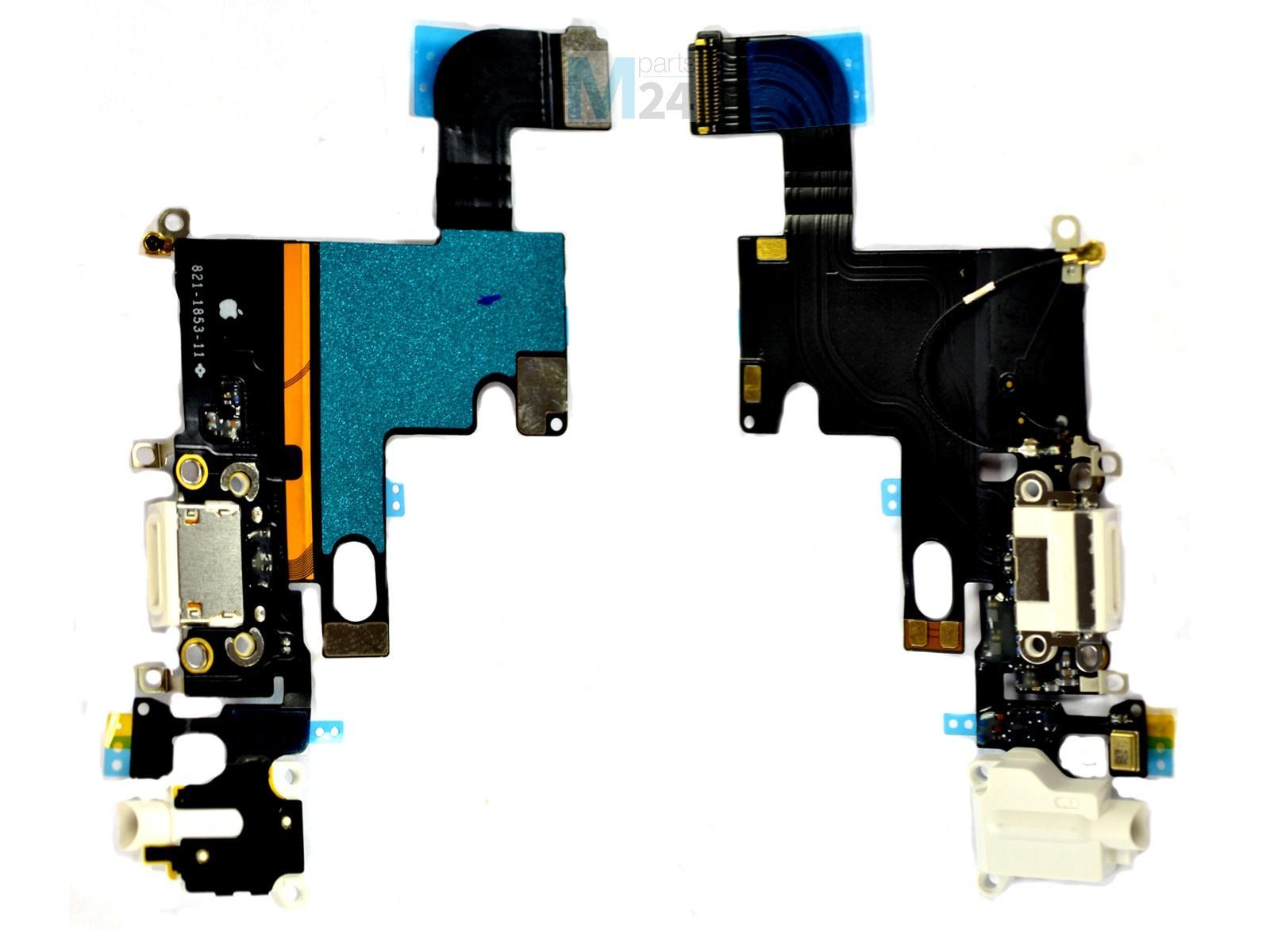 iphone 6 dock flex wei ladebuchse dockconnector audio. Black Bedroom Furniture Sets. Home Design Ideas