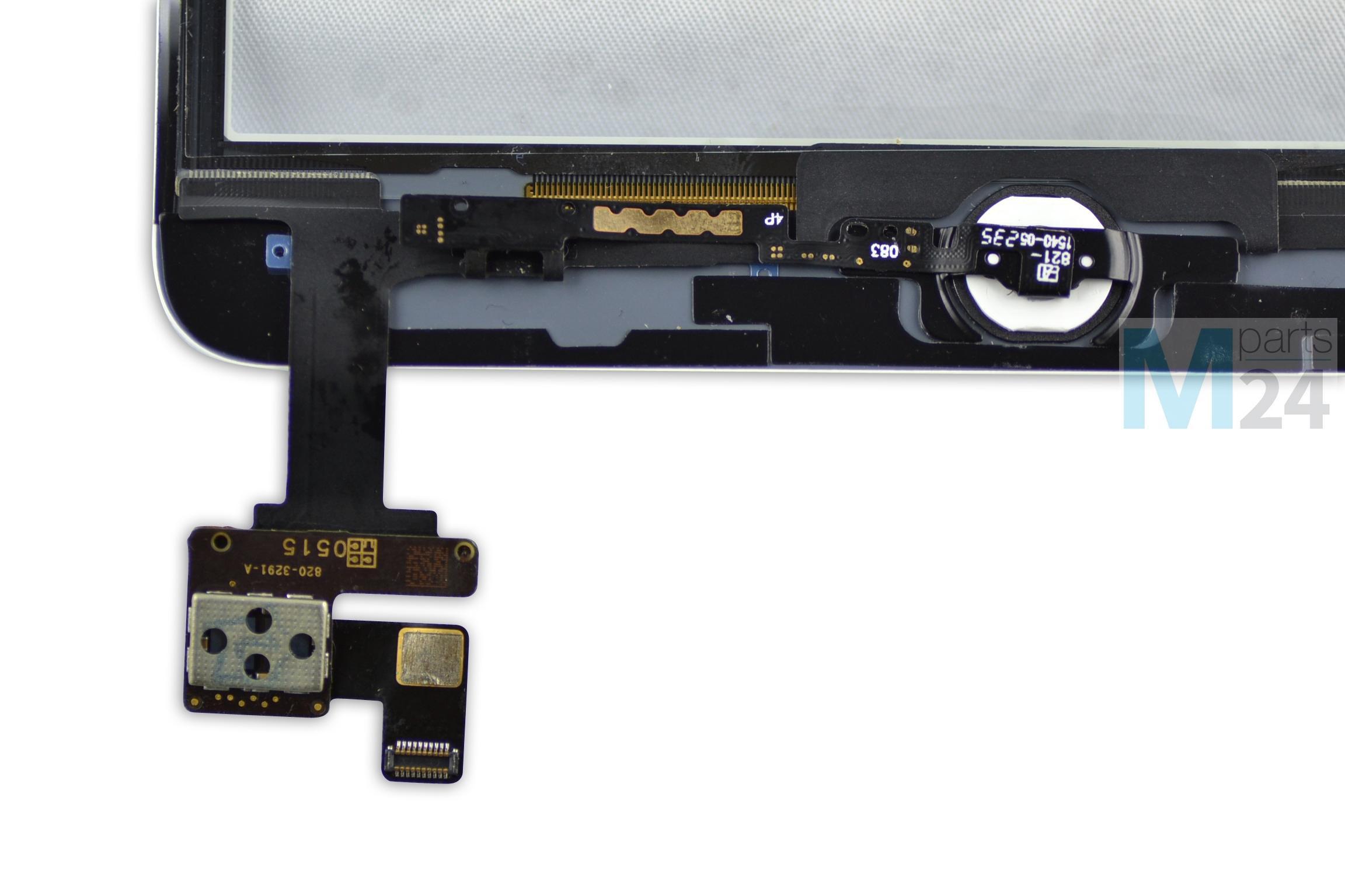 ipad mini 1 2 display scheibe wei touchscreen glas. Black Bedroom Furniture Sets. Home Design Ideas