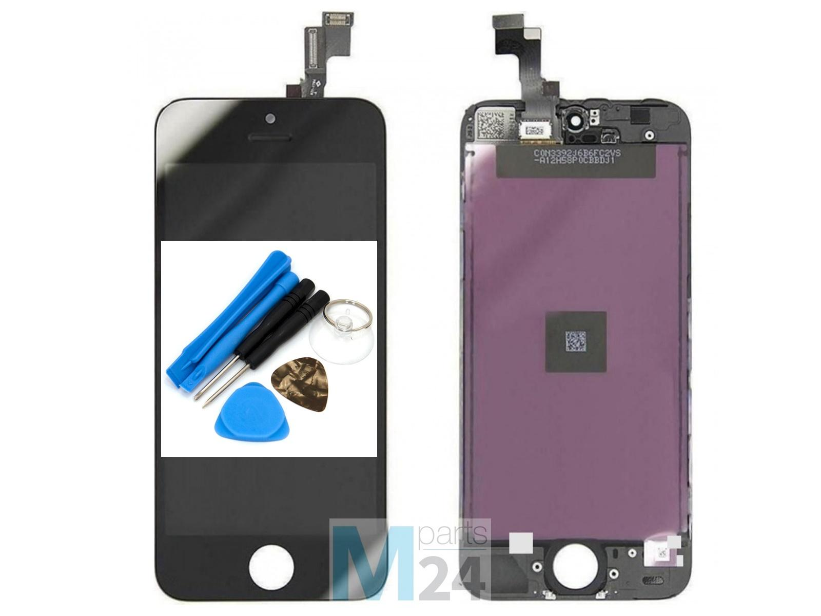 display reparatur set f r iphone 5s se schwarz tianma lcd. Black Bedroom Furniture Sets. Home Design Ideas