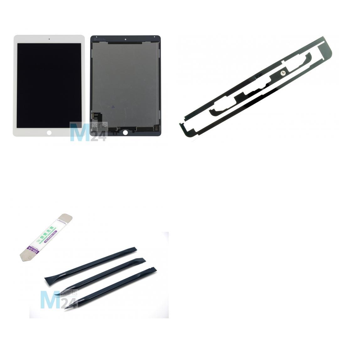 ipad air 2 display reparatur set wei lcd touchscreen. Black Bedroom Furniture Sets. Home Design Ideas